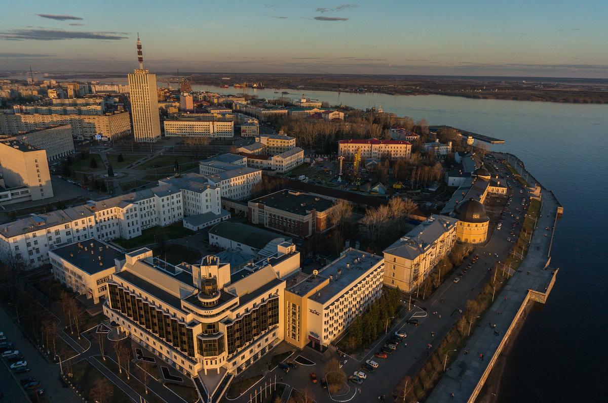 Архангельск: достопримечательности города с фото и описаниями