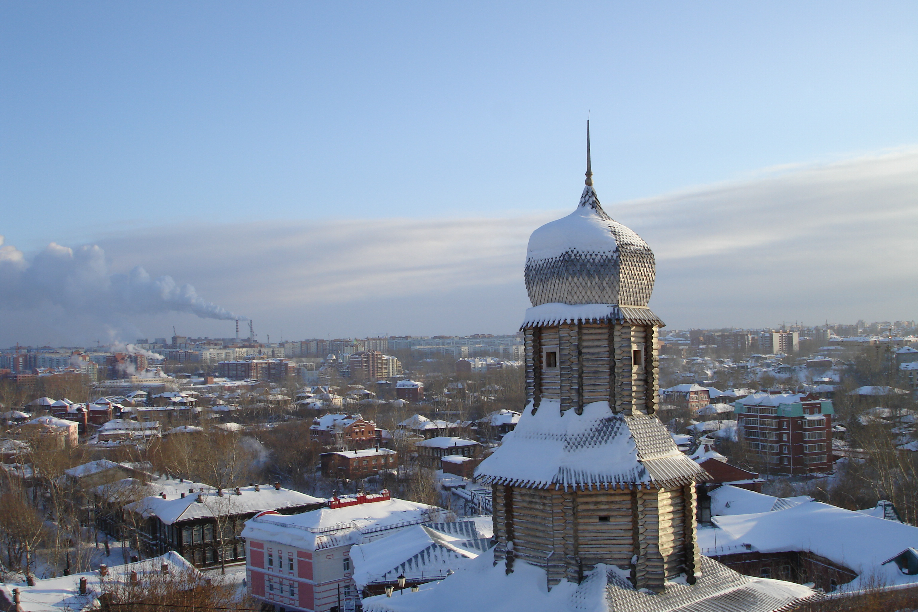 Томск: достопримечательности города с фото и описаниями